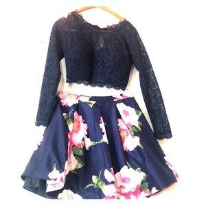 Juniors 2 piece dress